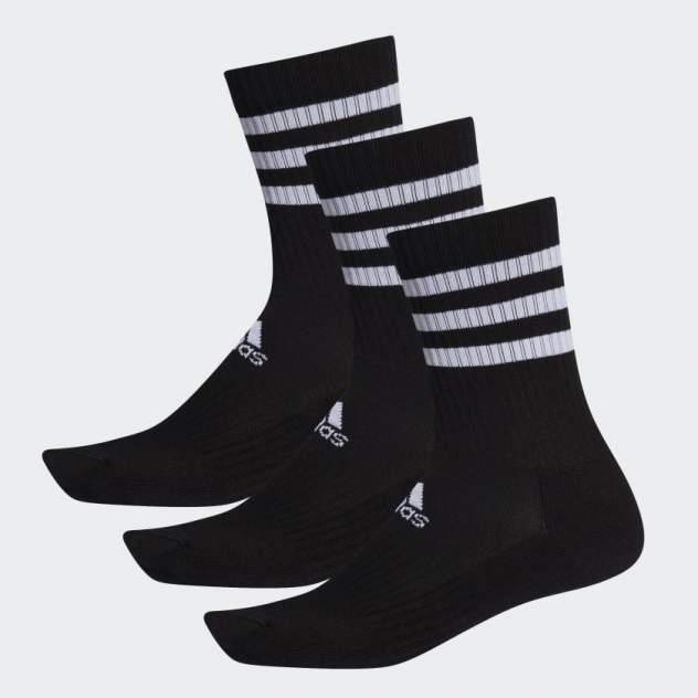 Набор носков унисекс Adidas 3S CSH CRW3P черный M