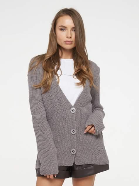 Кардиган женский VAY 202-1652 серый 54