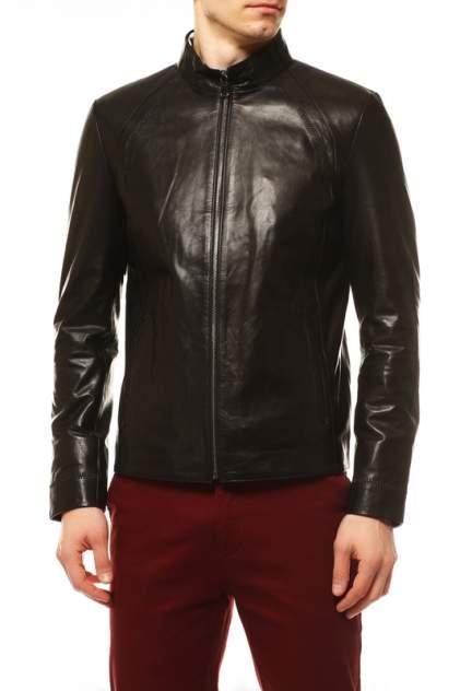 Кожаная куртка мужская VITTORIO VENETO 121 черная 48