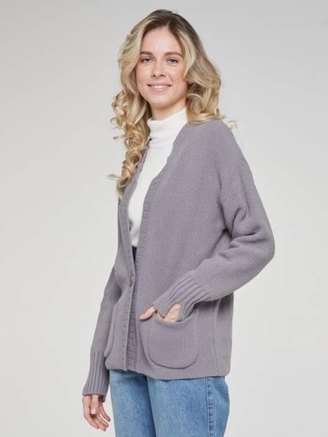 Кардиган женский VAY 202-1651 серый 50