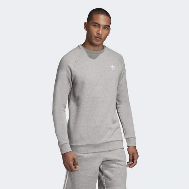 Толстовка мужская Adidas ESSENTIAL CREW, серый