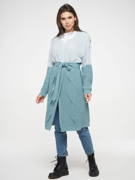 Кардиган женский BE YOU BY192-14010, голубой