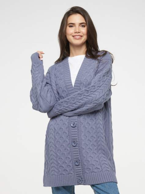 Кардиган женский VAY 202-1626, серый