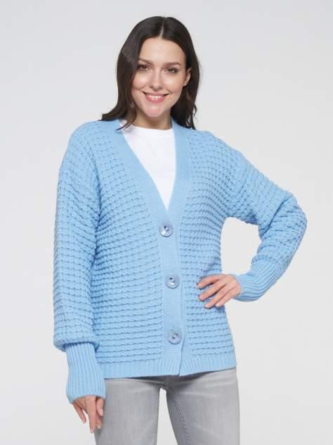 Кардиган женский VAY 202-1622, голубой