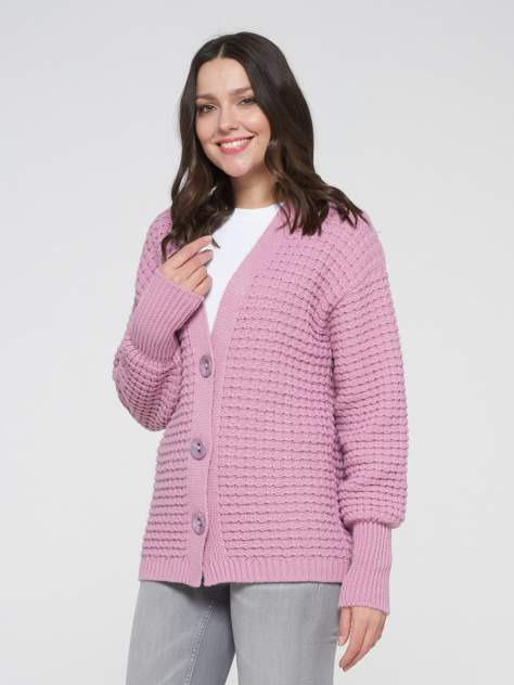 Кардиган женский VAY 202-1622, розовый