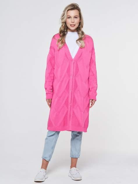 Кардиган женский VAY 201-1628, розовый