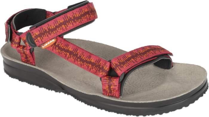 Мужские сандалии Lizard Super Hike, красный, серый