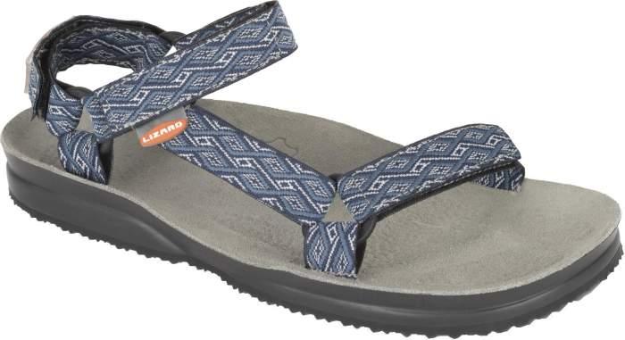 Мужские сандалии Lizard Hike, серый, синий