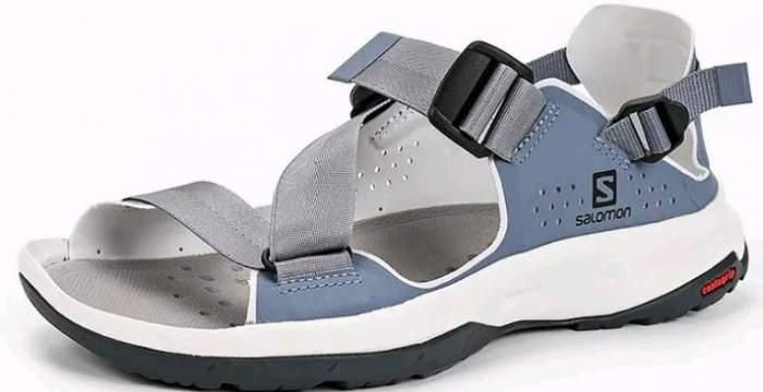 Сандалии Salomon Tech Sandal Feel W, flint/heather/ebony, 6.5 UK