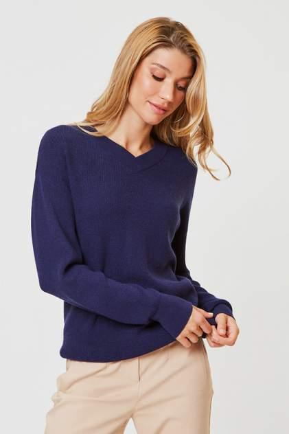 Пуловер женский Vittoria Vicci 1908-00-1259-S9038 синий 50-52