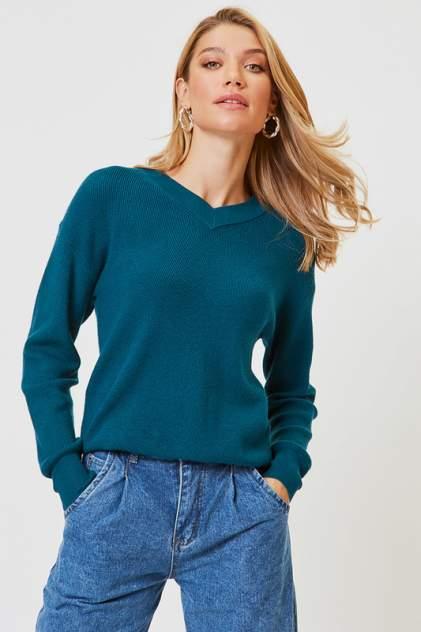 Пуловер женский Vittoria Vicci 1908-00-1259-S9050 зеленый 46-48