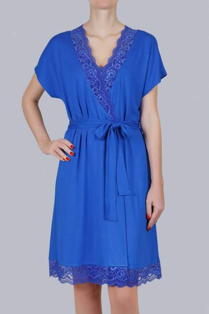 Халат женский Литвин 0485, синий