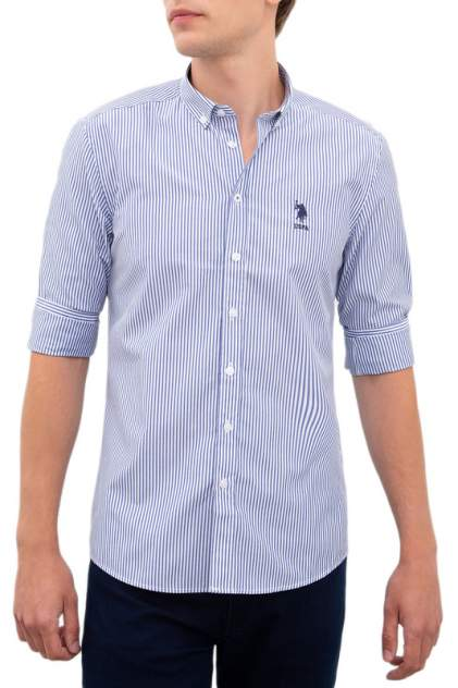 Рубашка мужская U.S. POLO Assn. G081SZ0040STRIPE19K синяя L