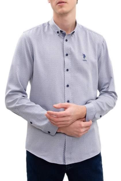 Рубашка мужская U.S. POLO Assn. G081SZ0040GARNUS серая L