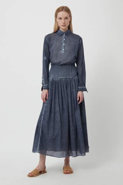 Женская блуза Finn Flare S21-14020, синий
