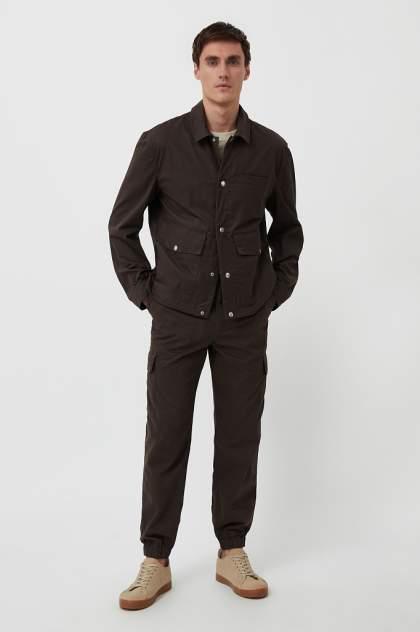 Брюки Finn Flare S21-42021, коричневый
