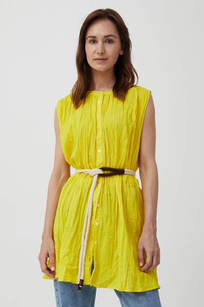 Женская блуза Finn Flare S21-110100, желтый