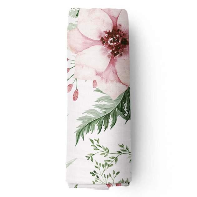 Пеленка для девочки муслиновая Adam Stork Watercolor Forest