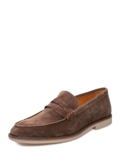 Лоферы мужские VALSER 601-863, коричневый