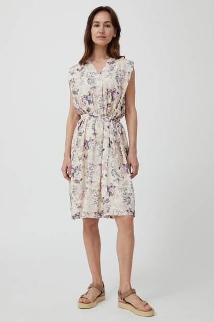 Платье женское Finn Flare S21-12011 бежевое L