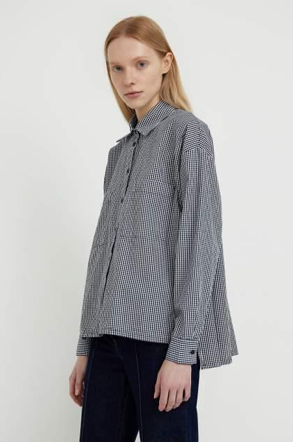 Женская рубашка Finn Flare S21-14053, синий
