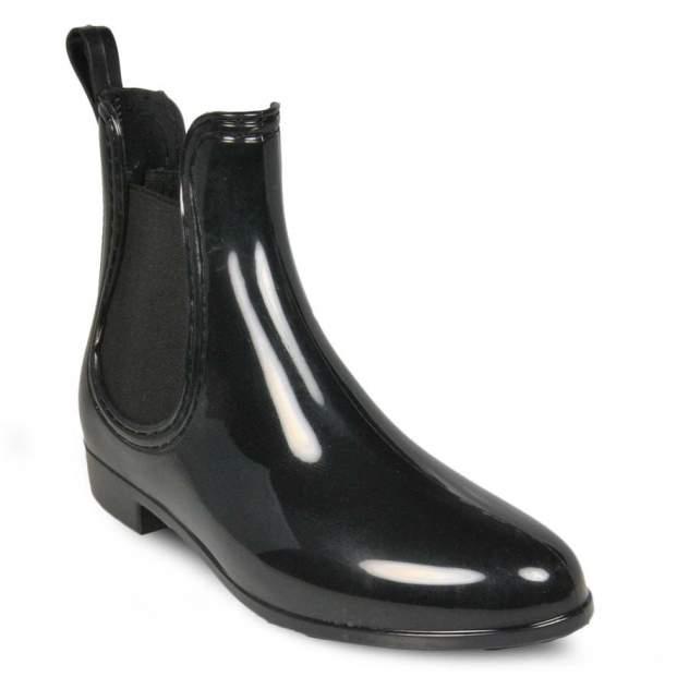 Резиновые ботинки женские MonAmi ZY-028 черные 41 RU