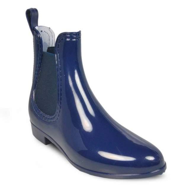 Резиновые ботинки женские MonAmi ZY-028 синие 41 RU
