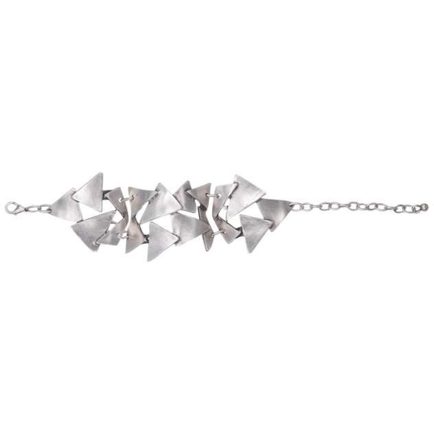Браслет женский OTOKODESIGN 56434 Треугольники, серебристый