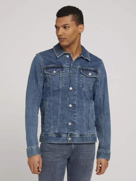 Мужская джинсовая куртка TOM TAILOR 1024890, синий
