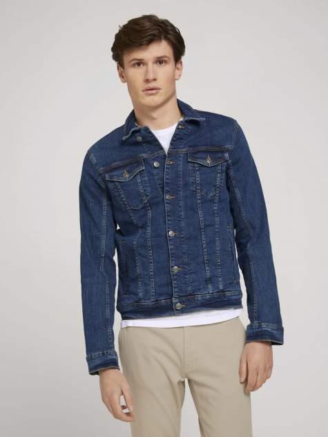Джинсовая куртка мужская TOM TAILOR 1024903 синяя L