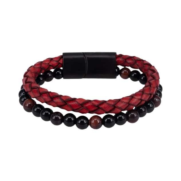 Браслет унисекс OTOKODESIGN 8-56509 кожаный красный