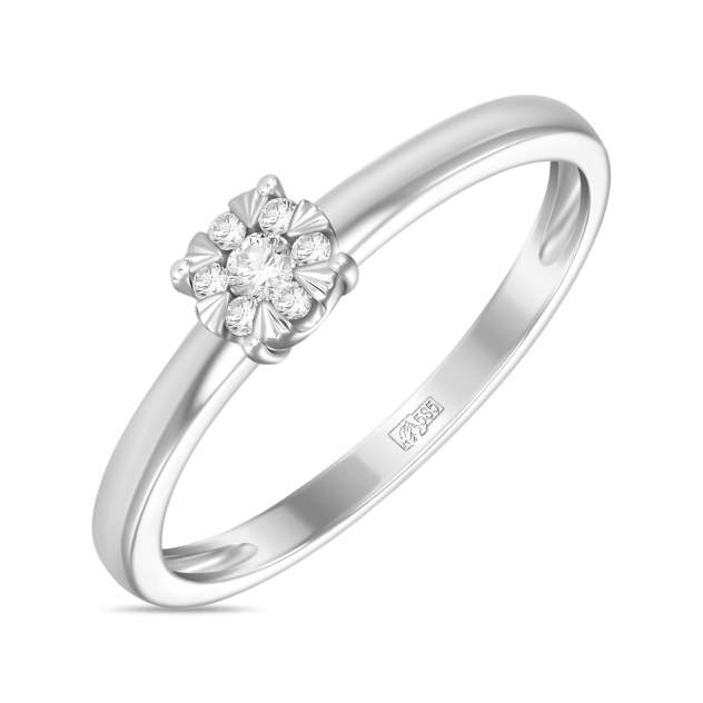 Кольцо женское Московский ювелирный завод R2011-1851358AXD-R17 17