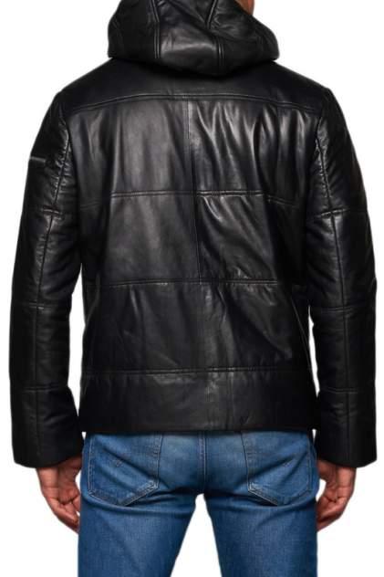 Кожаная куртка мужская REDSKINS M-21 черная 48