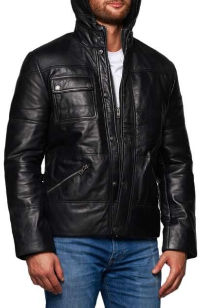 Мужская кожаная куртка REDSKINS M-21, черный