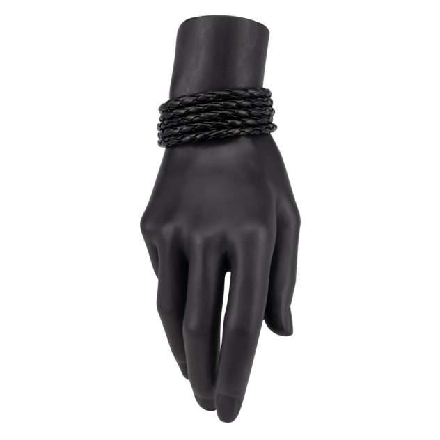 Браслет унисекс OTOKODESIGN 8-56491 кожаный черный
