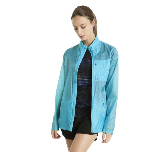 Ветровка женская Puma Lite Jacket W голубая S