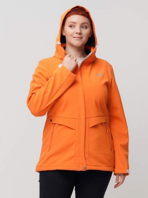 Ветровка женская MTFORCE 2032-1 оранжевая 60 RU