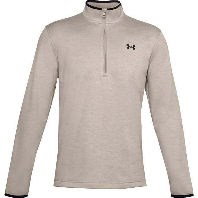 Лонгслив мужской Under Armour Fleece 1/2 ZIP коричневый M
