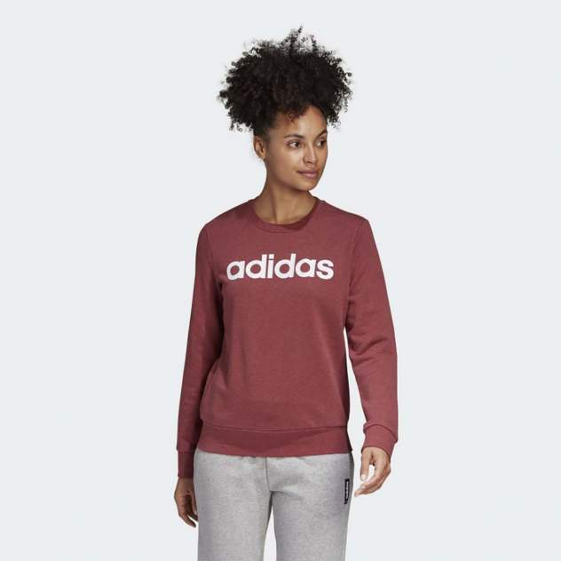 Свитшот женский Adidas W E LIN SWEAT красный M