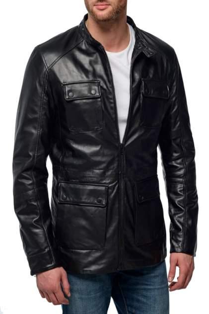 Кожаная куртка мужская MAURITIUS CASON черная 46