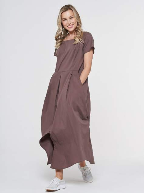 Женское платьеЖенское платье  VAYVAY  201-3595201-3595, , коричневыйкоричневый