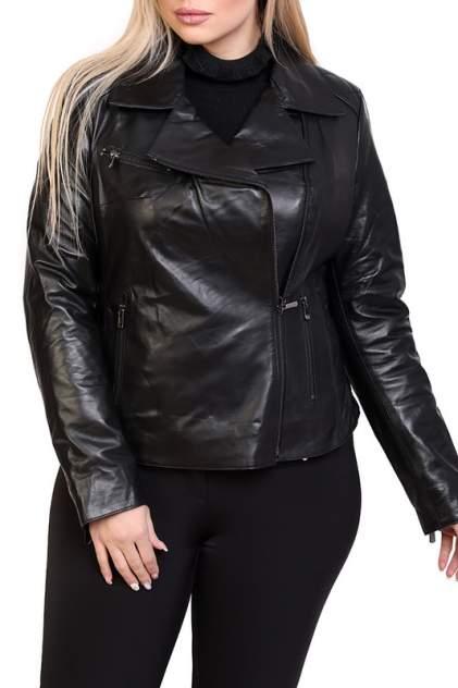 Кожаная куртка женская EXPO FUR B.1623 черная 40