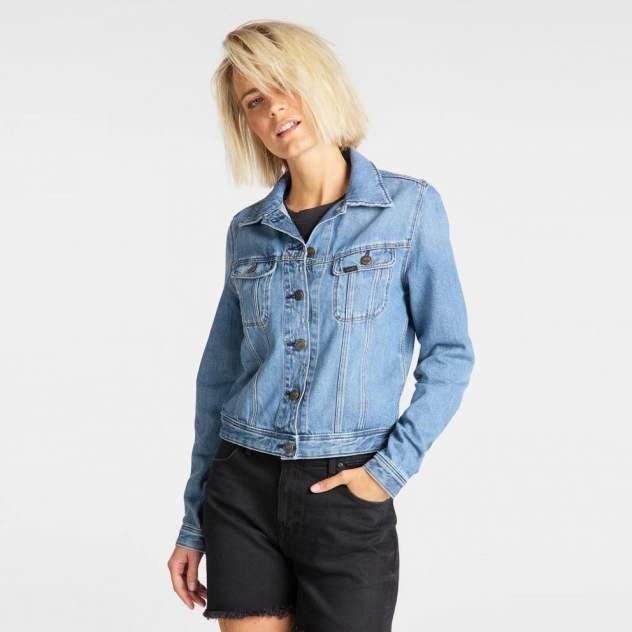 Куртка женская Lee RIDER JACKET LIGHT BAYBRIDGE синяя XS