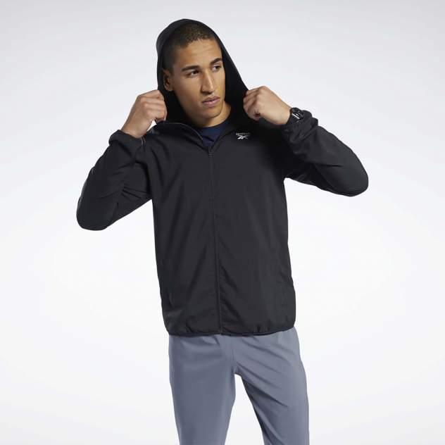 Ветровка мужская Reebok TE Woven Jacket черная XL