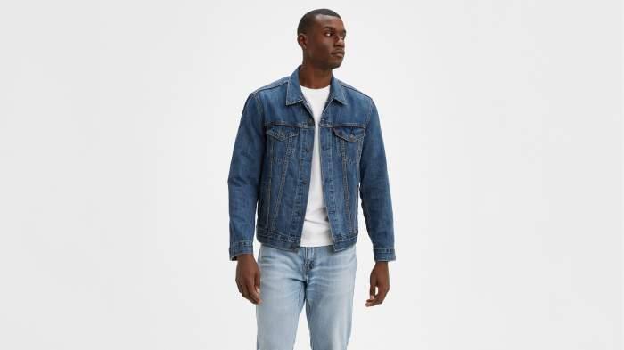 Куртка мужская Levis The Trucker Jacket синяя 3XL