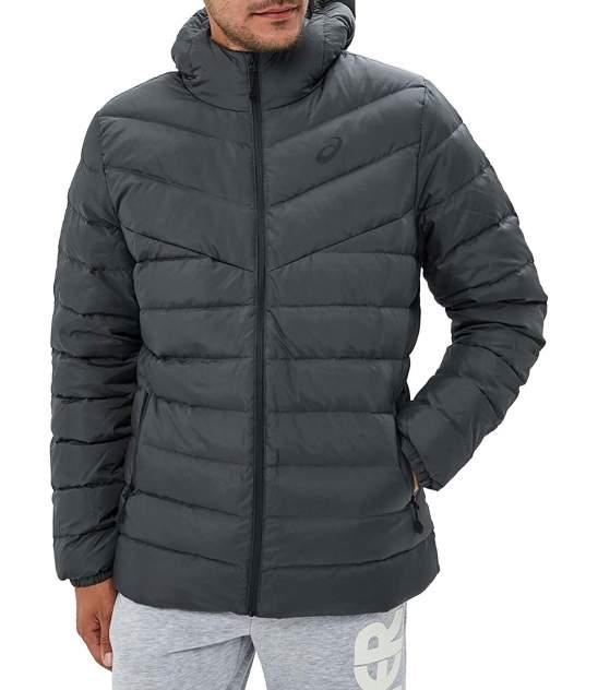 Куртка Asics DOWN HOODED JACKET, зеленый