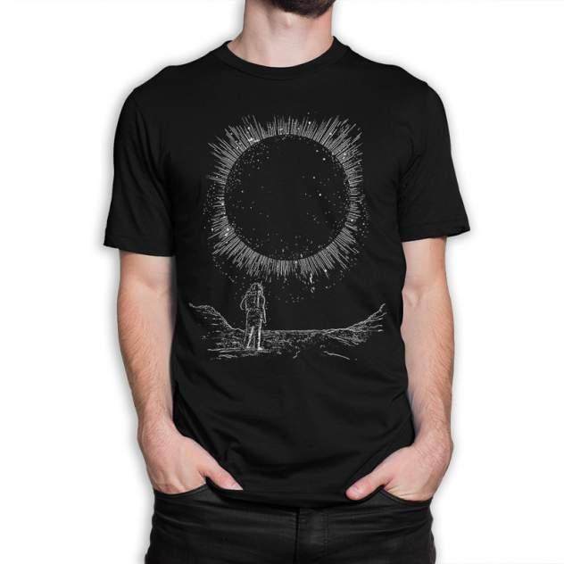 Футболка Dream Shirts Затмение, черный