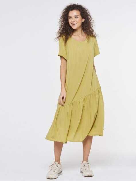 Платье женское VAY 201-3582 зеленое 46