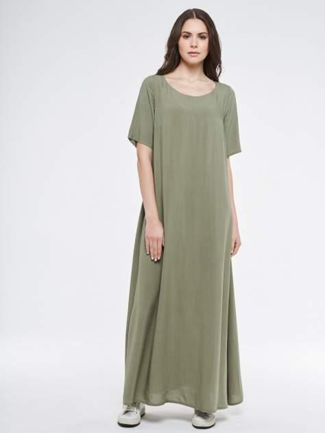 Платье женское VAY 201-3583 зеленое 50