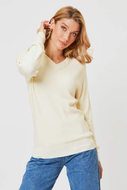 Пуловер женский Vittoria Vicci 1908-00-1259-S9138 белый 50-52